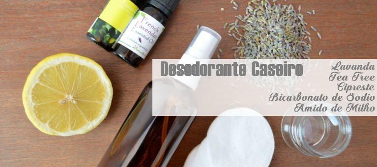 desodorante caseiro