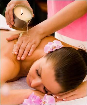 vela para massagem